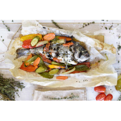 Sea bream front